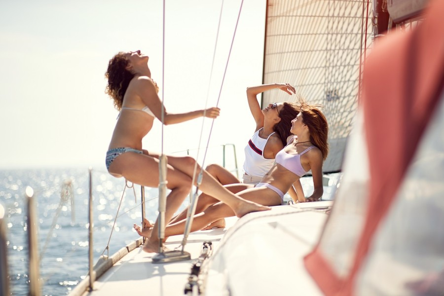 Bachelorette Party on a sailing yacht - Sail in Greek Waters