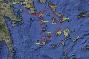 Cyclades map: click to enlarge