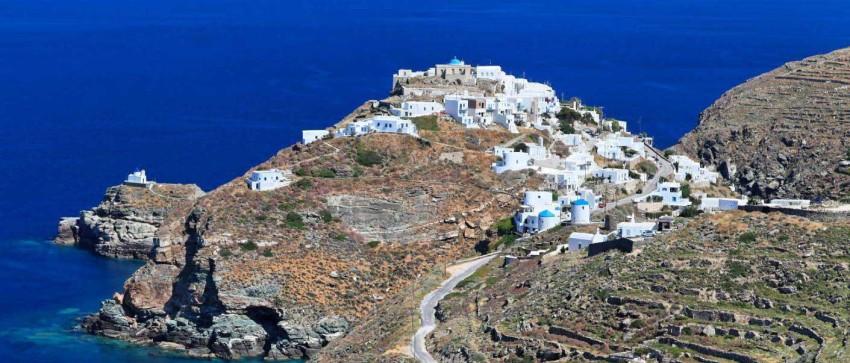 The Castle (Kastro) of Sifnos - unique hiking destination