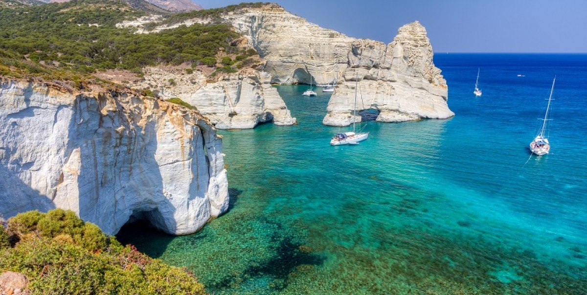 Cyclades islands sailing Holidays-Sail in Greek Waters