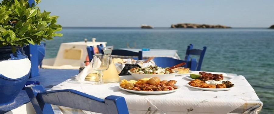 Gastronomy in the Aegean Sea (photo credit: Efi Paroutsa)