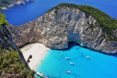 Zante, Navagio Beach - holidays on a sailing yacht | Sail in Greek Waters