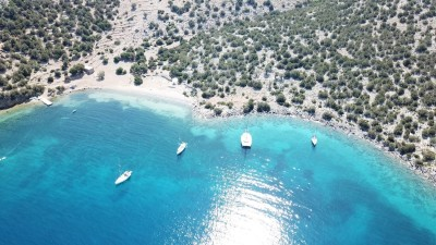 The uninhabited islet of Dokos - a famous sailing destination |Sail in Greek Waters