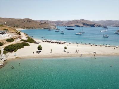 Kythnos island, bay of Kolona