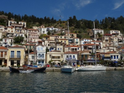 Poros island - Beautiful sailing destination