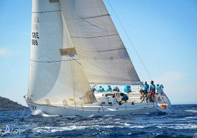 Sailing lessons on a racing yacht