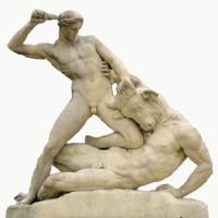 Minotaur and Theseus