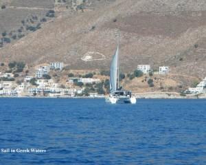 Livadia bay, Tilos island: Relaxing sailing holidays | Sail in Greek Waters