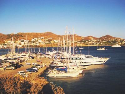 Siros Island, Finikas marina
