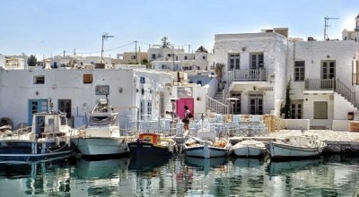Naousa picturesque port | Sail in Greek Waters