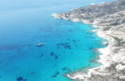 Beautiful waters of Kimolos