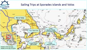 The sailing area of Volos and Sporades islands | Sail in Greek Waters