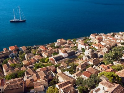 Sailing Holidays in Saronic Gulf and Peloponnese - Monemvasia | Sail in Greek Waters
