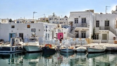 Naousa Little Port in Paros | Sail in Greek Waters