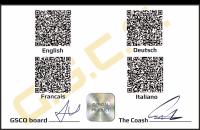 Back Side ofID Card