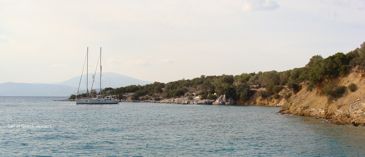 Secluded cove of Dokos - Sail in Greek Waters