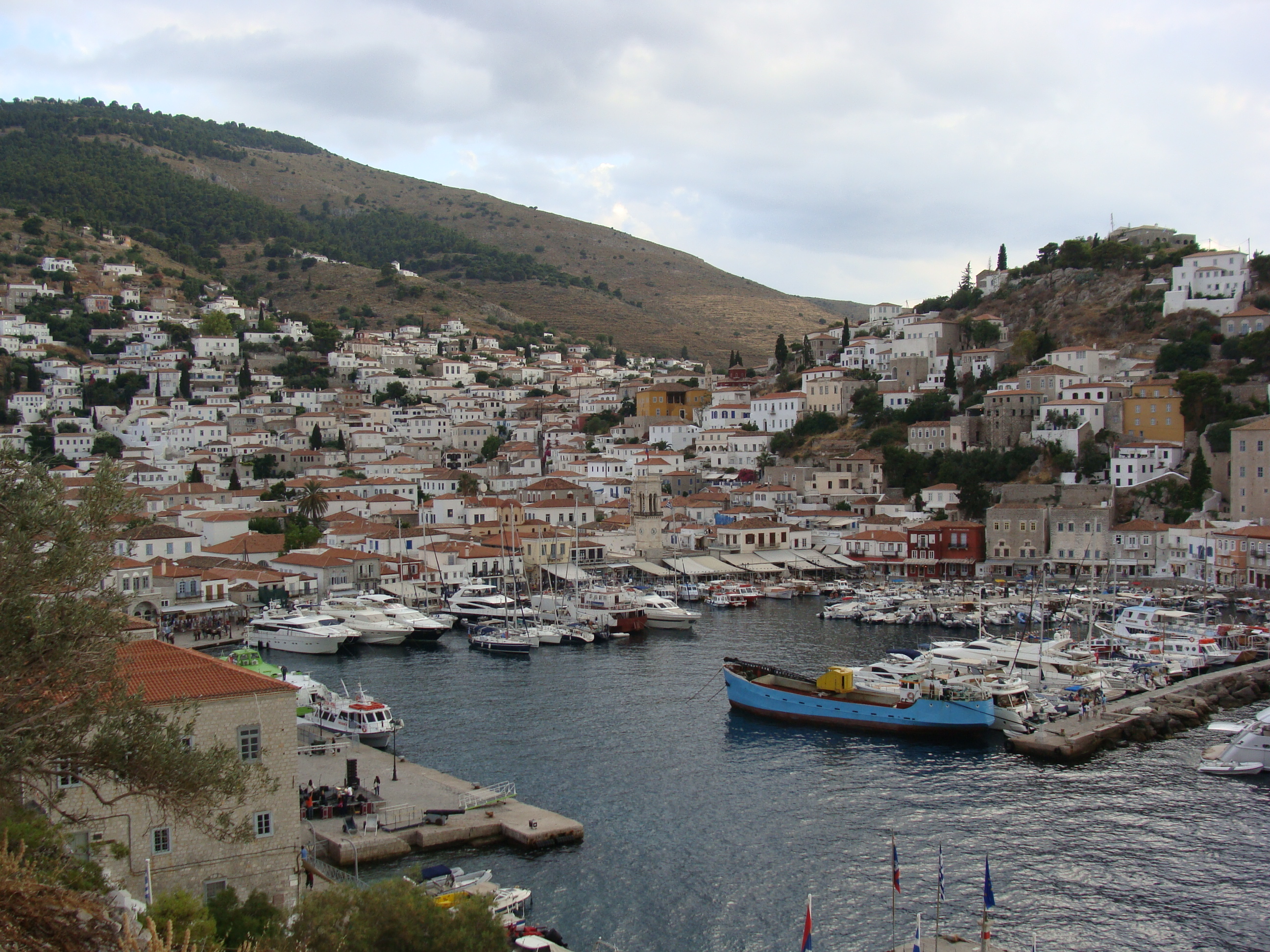 The historic port of Hydra - a wonderful sailing destination