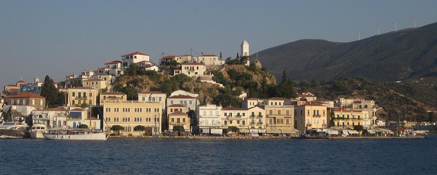 The port of Poros