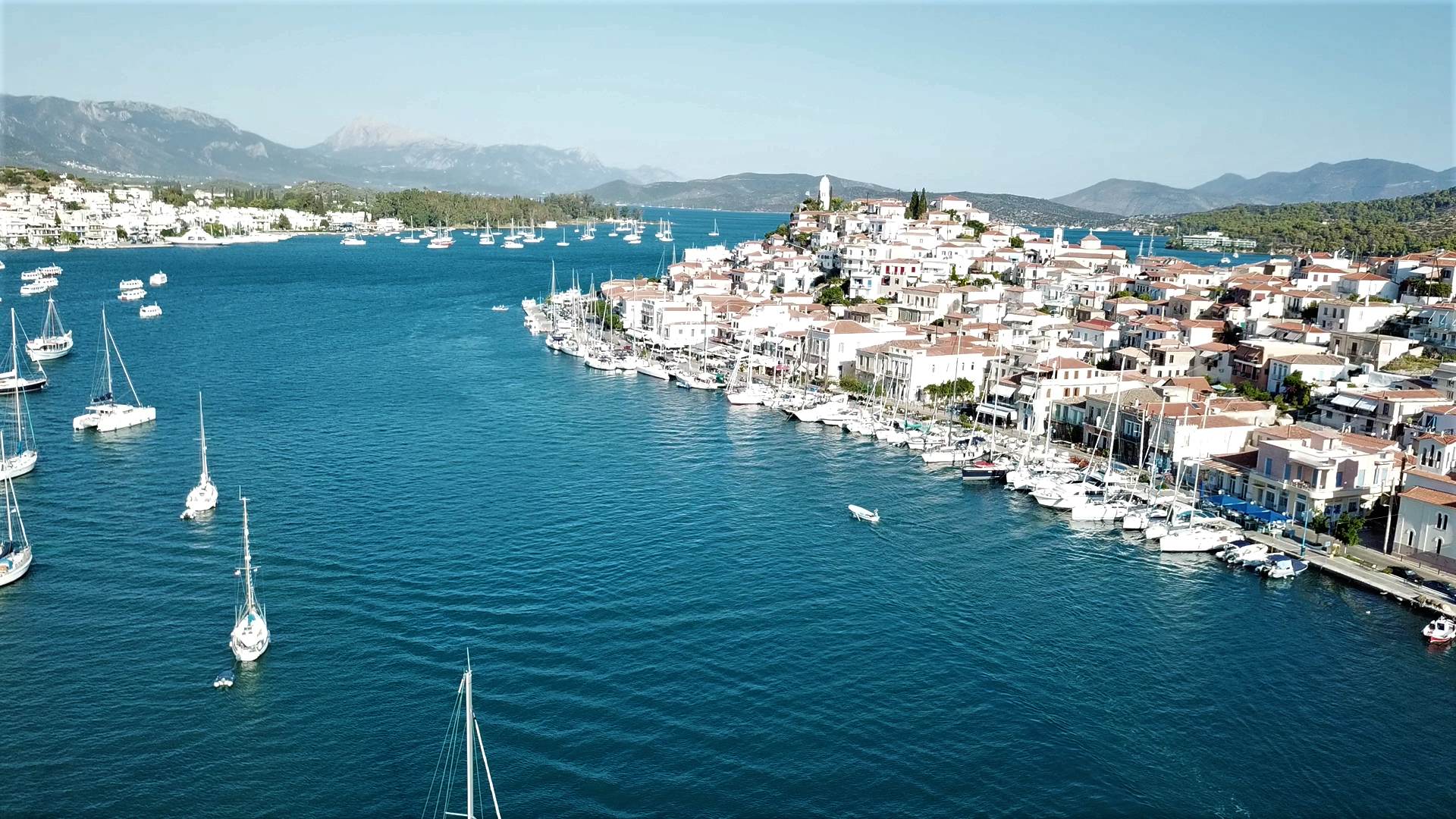 The port of Poros