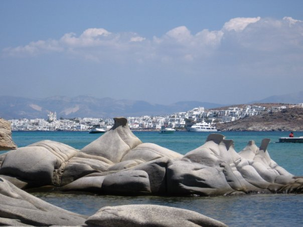 Sailing around Cyclades- Naousa,Paros island