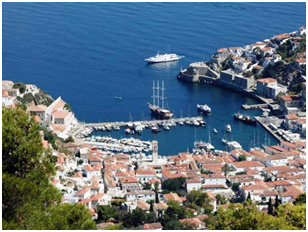The Old Harbor of Hydra Island: a true monument by itself