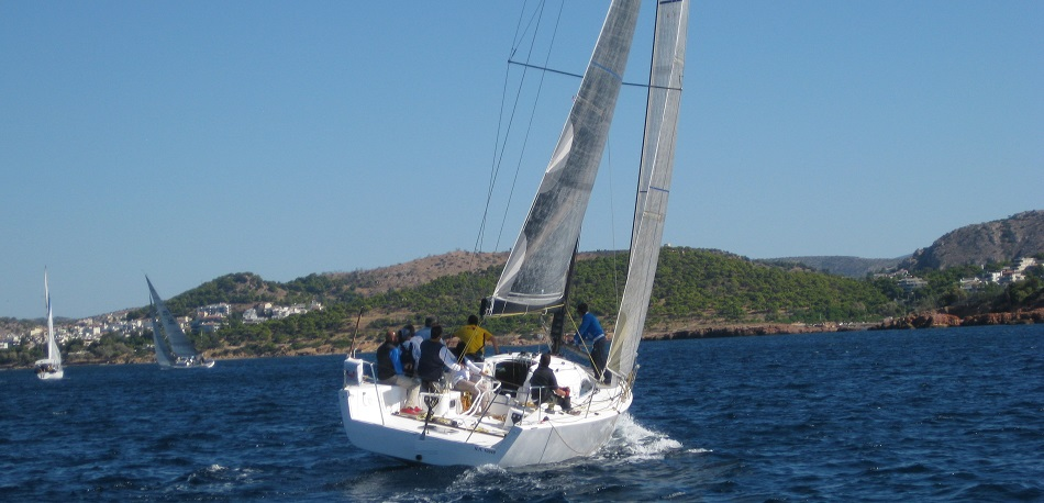 Learning how to sail |Sail in Greek Waters