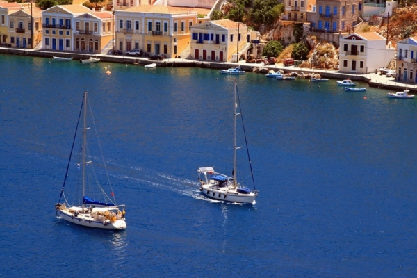 Two weeks sailing around Dodecanese islands