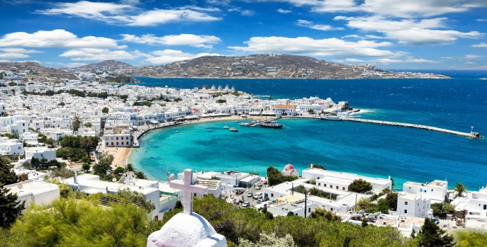 One week sailing in the Cyclades islands - start in Lavrion